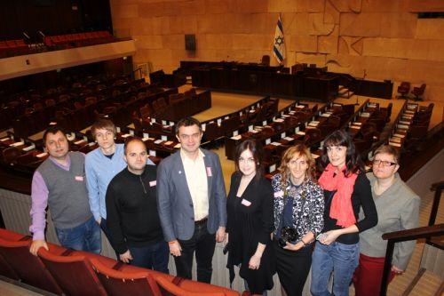 Кнессет_зал парламента